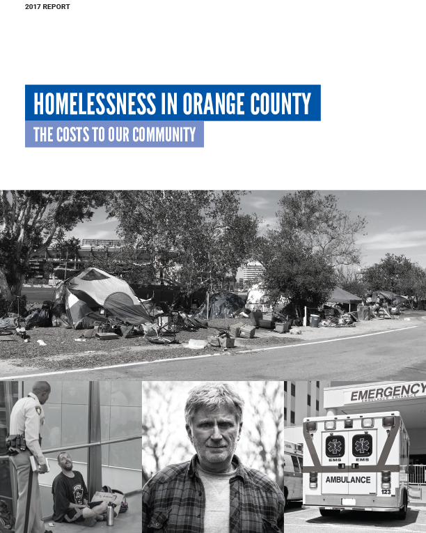 Orange County Cost of Homelessness Study by Dr. David Snow & Rachel Goldberg