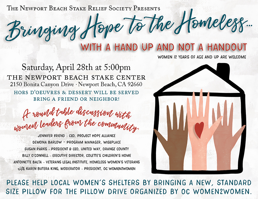 Bringing Hope to the Homeless Event