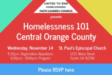 Tonight in Tustin  Homelessness 101
