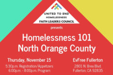 Tonight in Fullerton  Homelessness 101