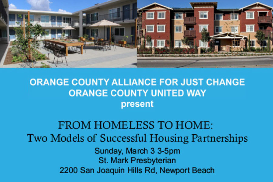 From Homeless to Home Free Forum March 3